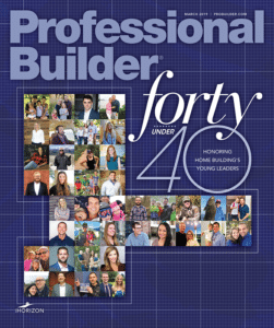 Professional Builder magazine cover
